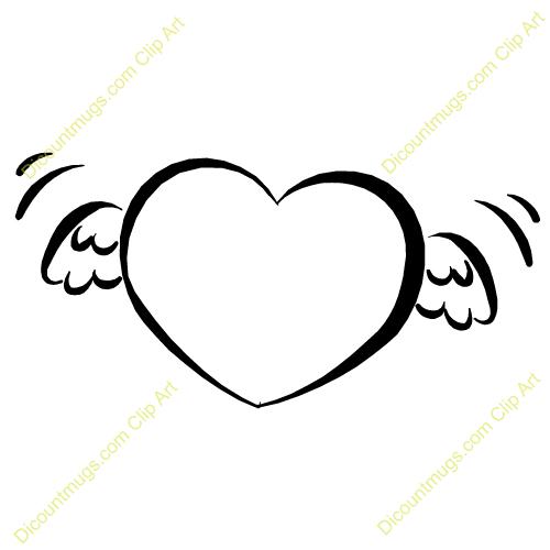 Baby Angel Wings Clip Art.
