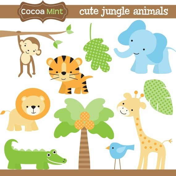 Baby animals clipart for baby showers 6 » Clipart Portal.