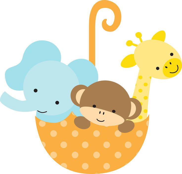 Baby Animal Clipart Baby Shower.