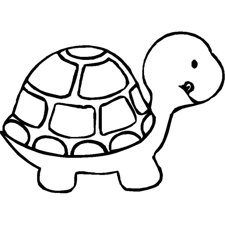 Baby Animal Clipart Black And White Clipground