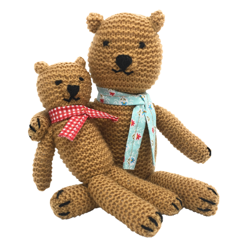 Teddy Bears: A Very First Picture Book Knitting Stuffed.