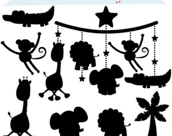 Free Baby Animals Silhouette, Download Free Clip Art, Free.