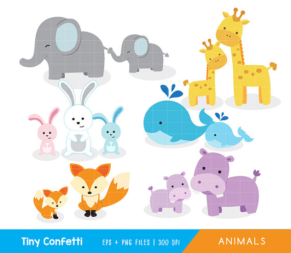 Collection of 14 free Mother clipart baby animal aztec clipart.