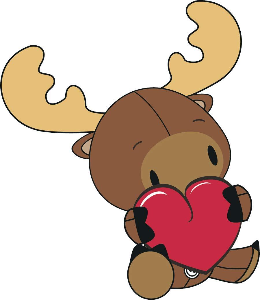 Amazon.com: Cute Adorable Kawaii Baby Animal Hugging Heart.