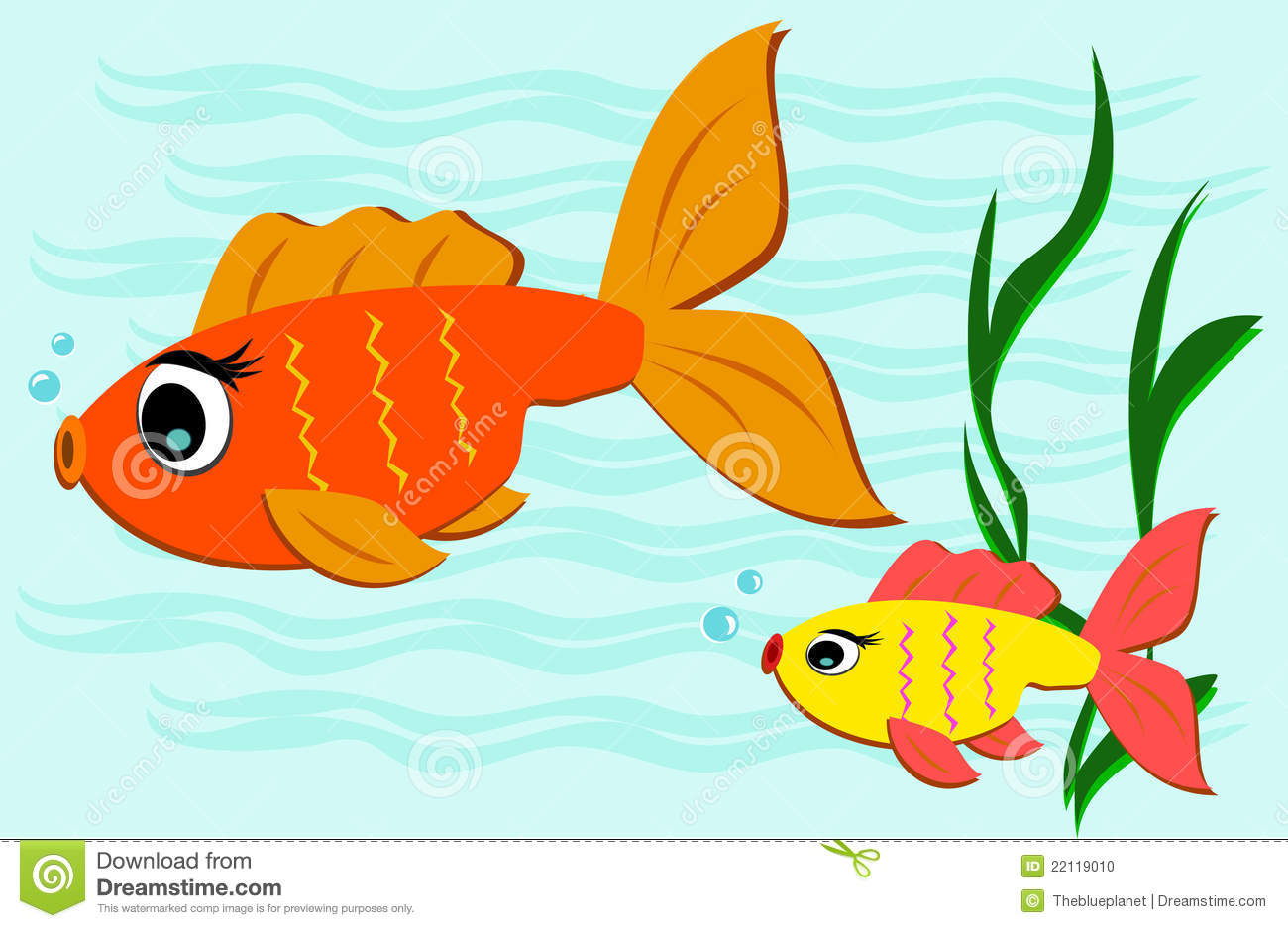 7061 Swimming free clipart.