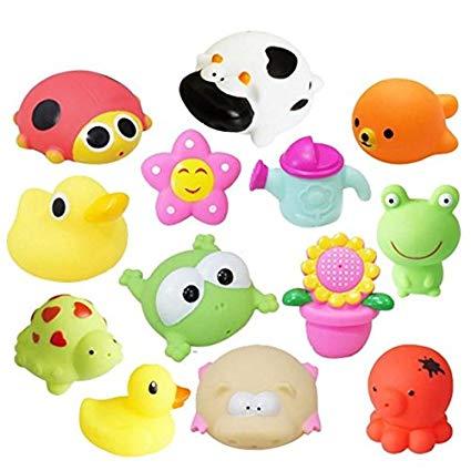 Amazon.com: MyToy Animals Child Baby Kids Bath Toy Soft.