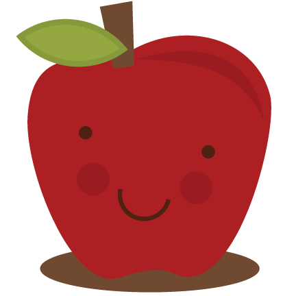Cute Apple SVG apple svg file svg files for scrapbooking cute.