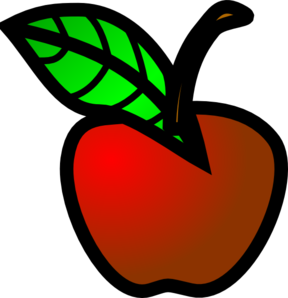 Mini apples clipart.