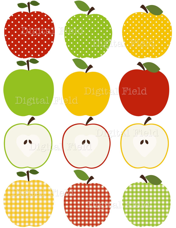 Chevron apple clipart free printable.