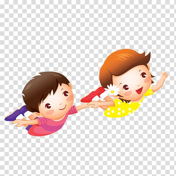 Boy Girl , Children of the world transparent background PNG.