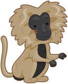 Baboon Clipart.