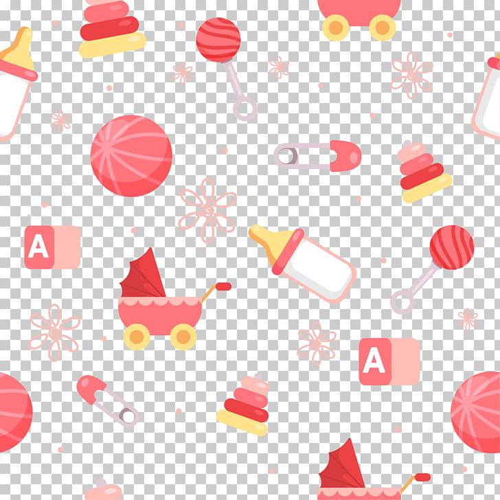 Infant Flat design Euclidean , Baby background shading.
