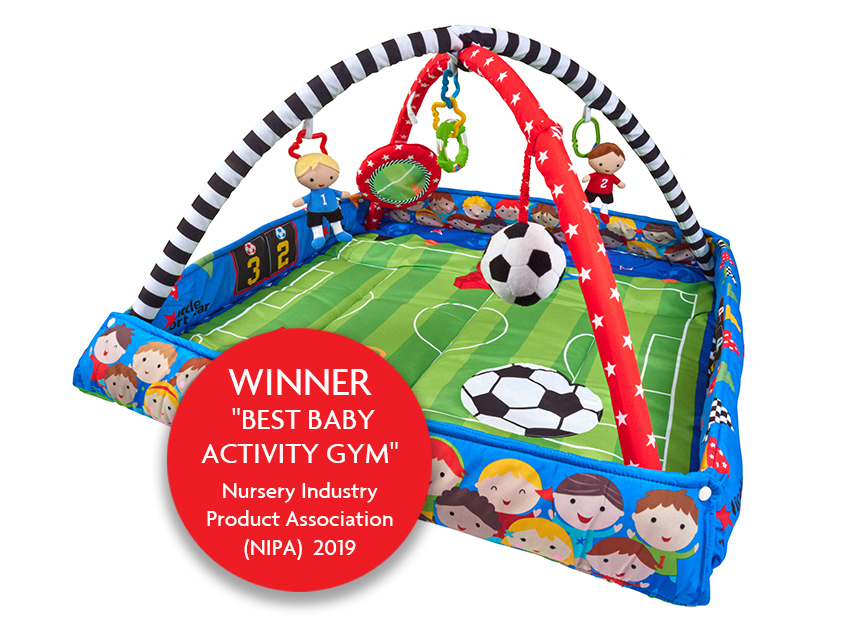 Football Baby Activity Gym and Play Mat.