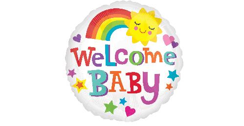 Welcome Baby Rainbow (B50).