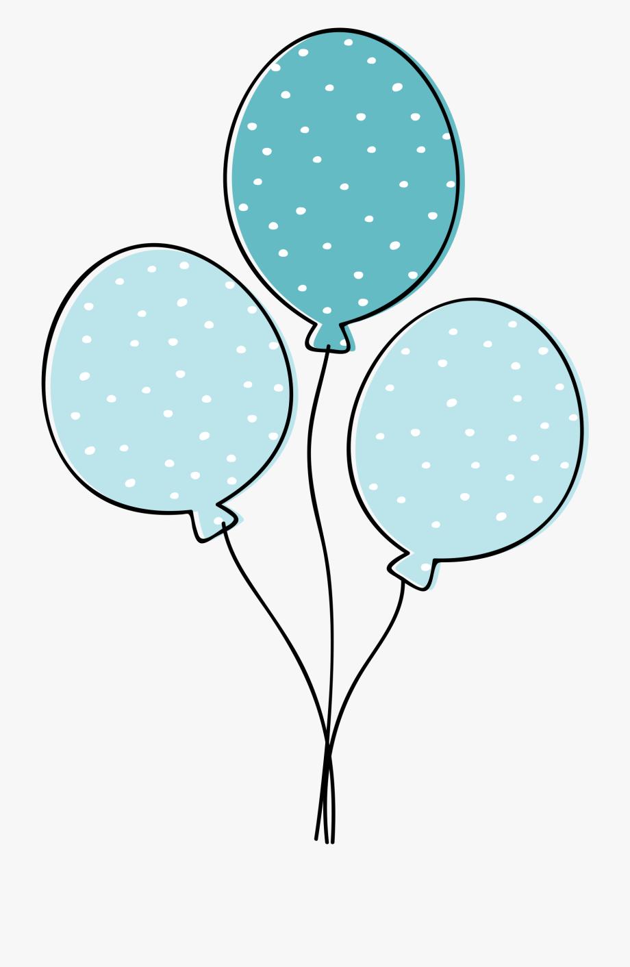 Balloons Clip Art.
