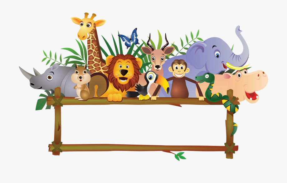 Baby Farm Animals Jungle Royalty.