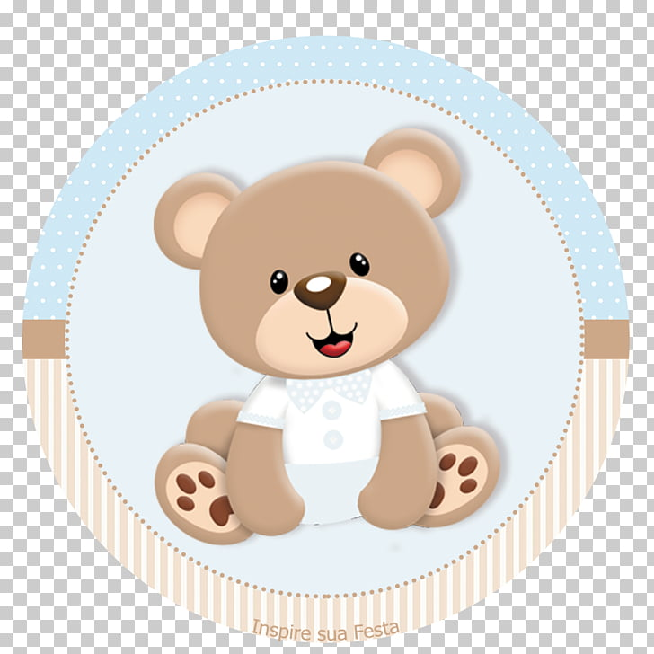 Teddy bear Paper Party Baby shower, bear PNG clipart.