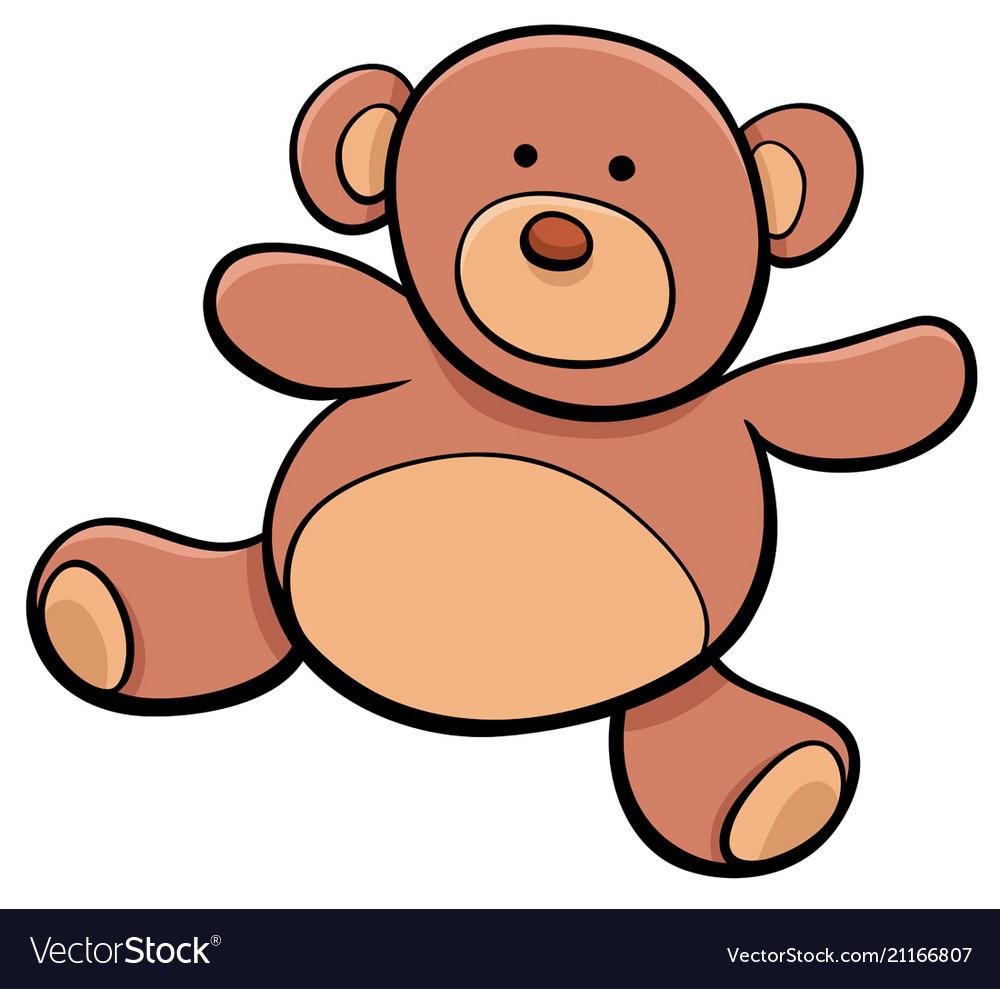 Teddy bear cartoon toy clip art.