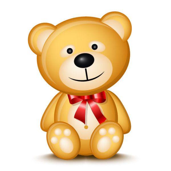 teddy bear cartoon image.