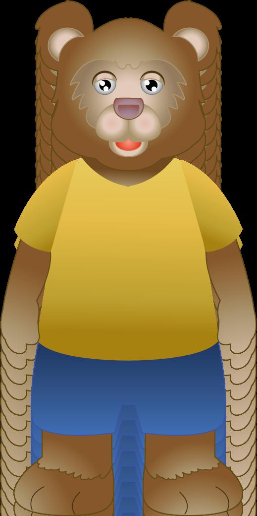 Baby Bear Clipart.