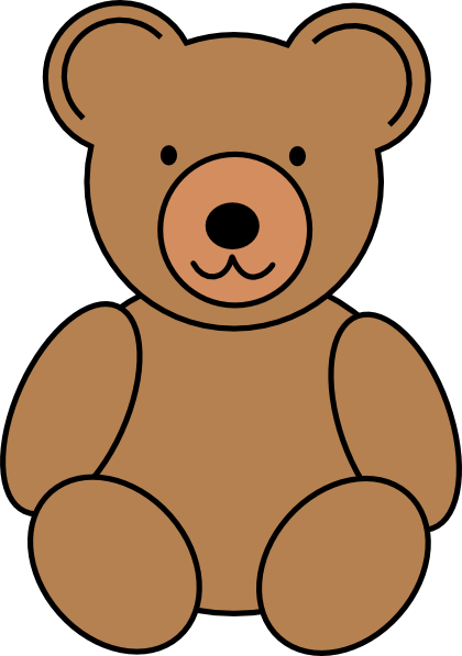 Teddy bear clipart #3