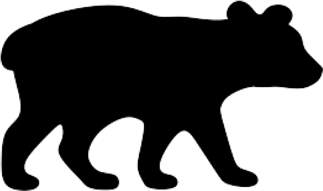 Black Bear Clipart Wildlife.