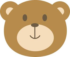 Baby bear face clipart clipart images gallery for free.