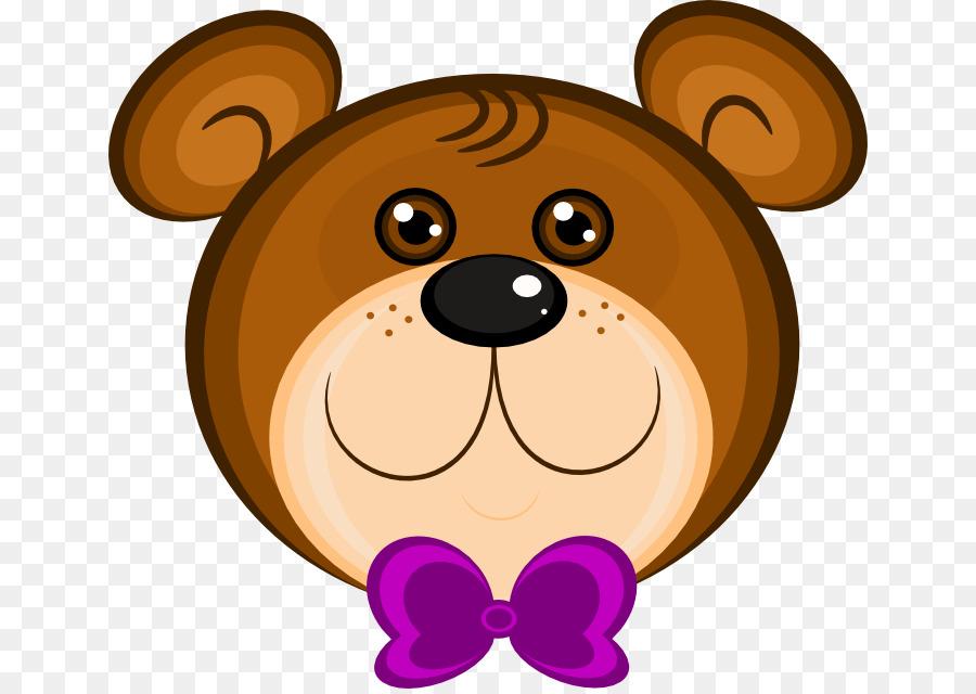 Teddy Bear Face Clipart.