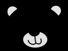 Polar Bear Clipart Face.