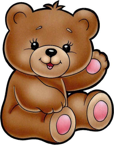 582 Baby Bear free clipart.