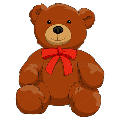 Toy Bear Clipart.
