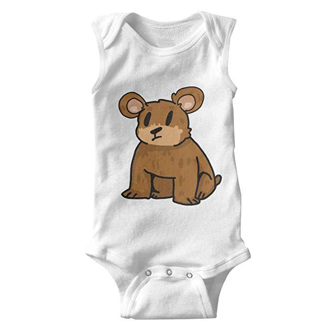 Amazon.com: ChenHuan Funny Clipart Brown Bear Infant Cotton.