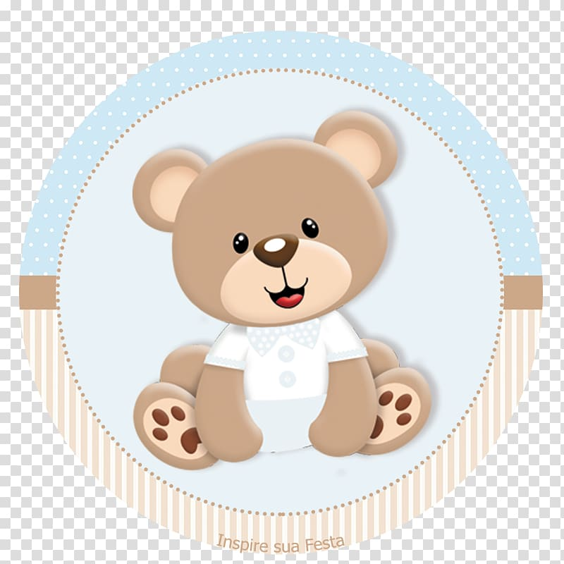 Teddy bear Paper Party Baby shower, bear transparent.