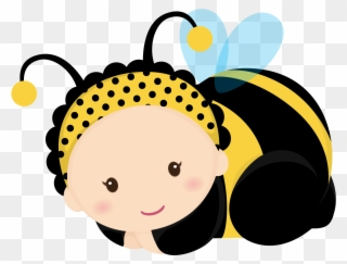 Free PNG Baby Bee Clipart Clip Art Download.