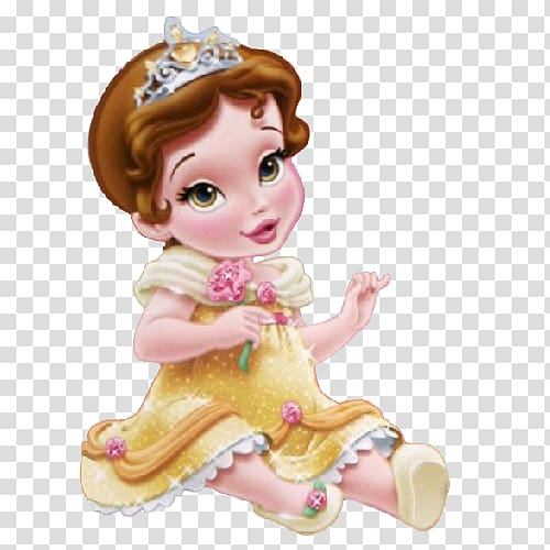 Belle Beauty and the Beast Ariel Rapunzel, Baby disney.
