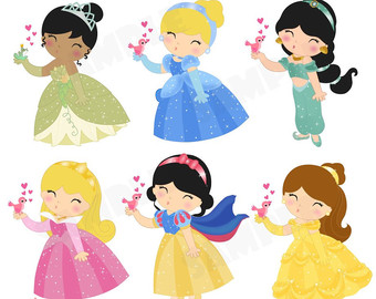 3944 Disney Princess free clipart.