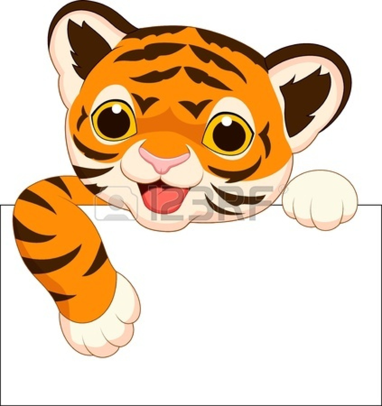 Baby Tiger Clipart at GetDrawings.com.