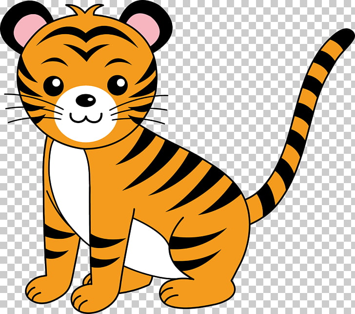 Bengal tiger Free content , Baby Animal s PNG clipart.