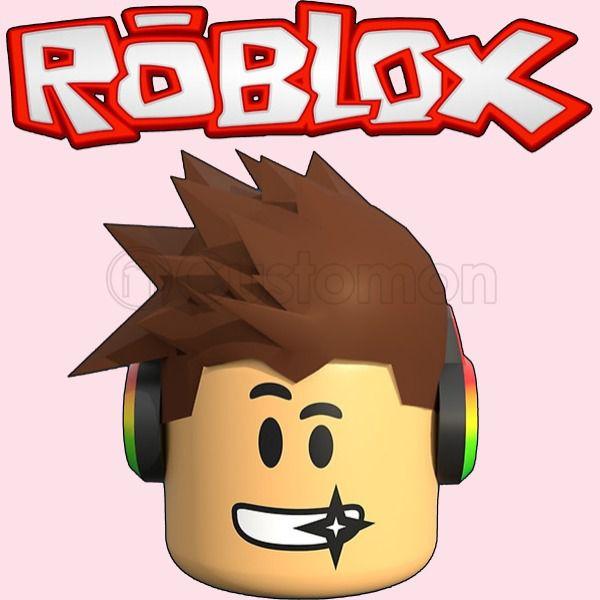 Roblox Head Baby Bib.