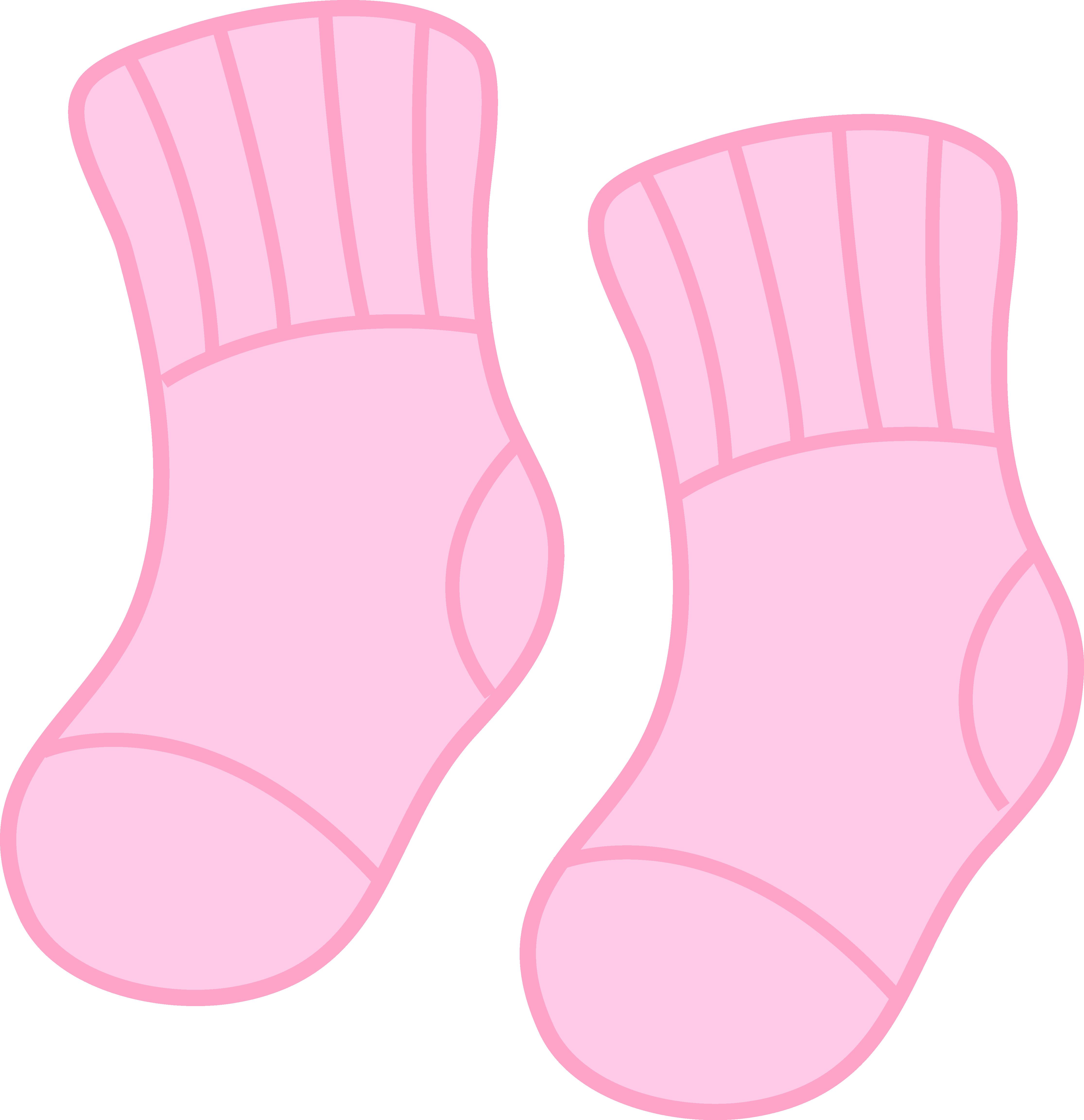 Baby Girl Pink Socks.