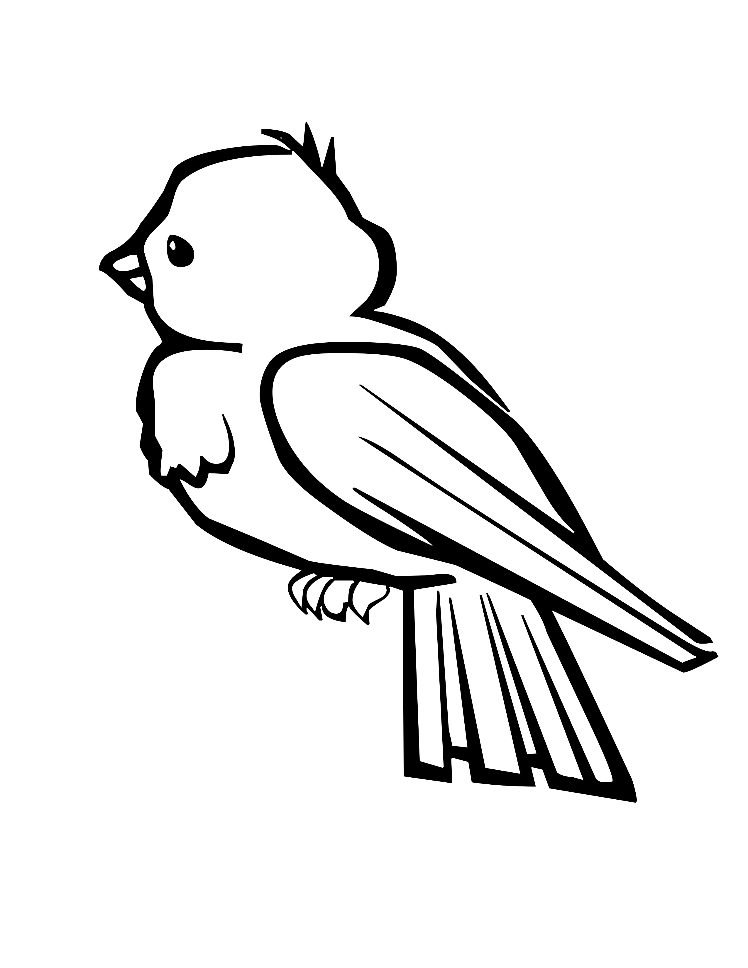 Free Baby Bird Clipart Black And White, Download Free Clip.