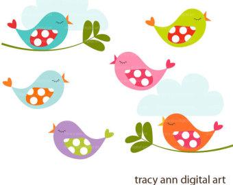 Baby Birds Clip Art.
