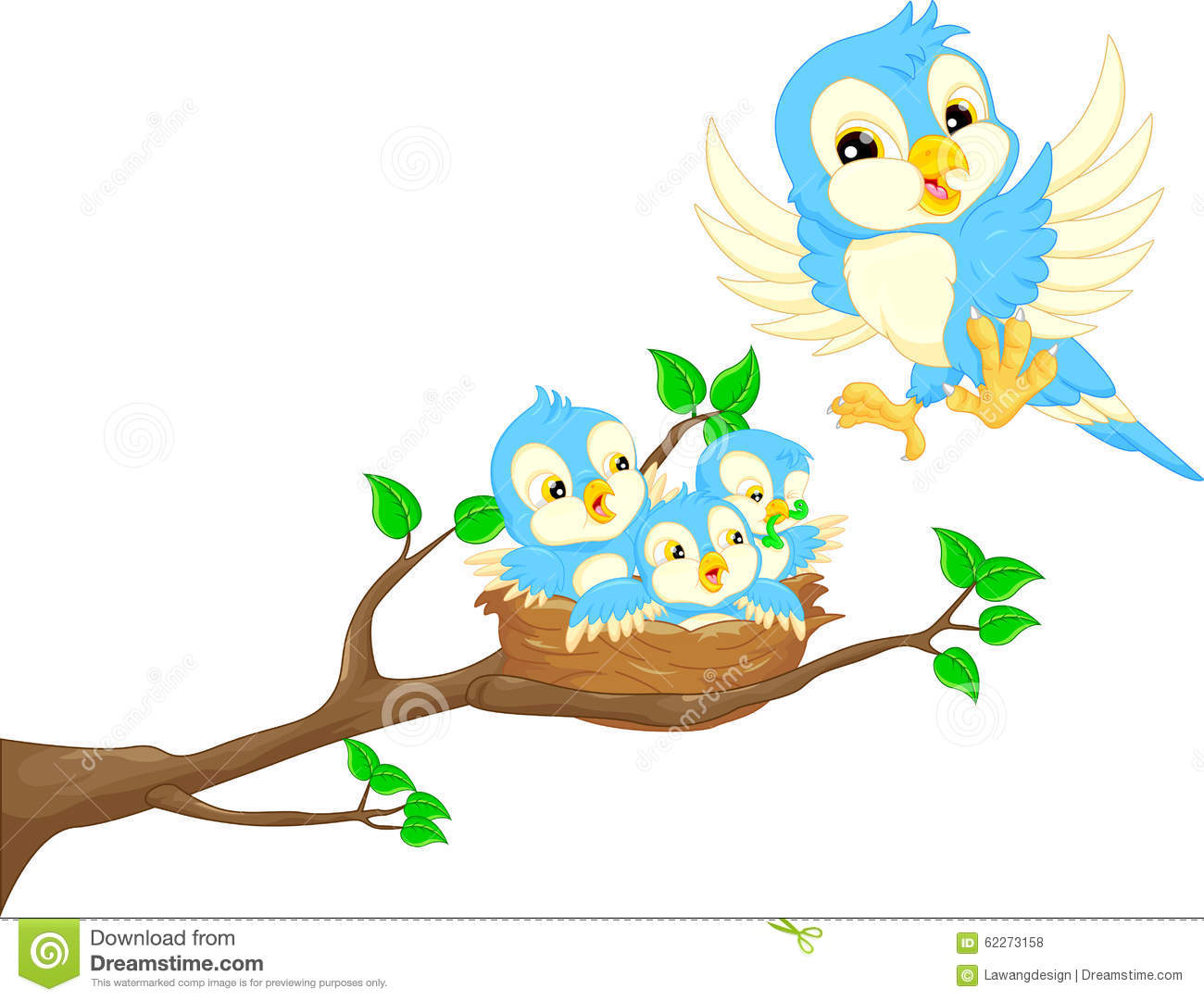 Baby birds clipart 2 » Clipart Station.