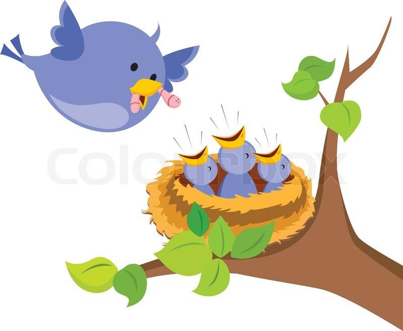 Baby Bird Nest Clipart.