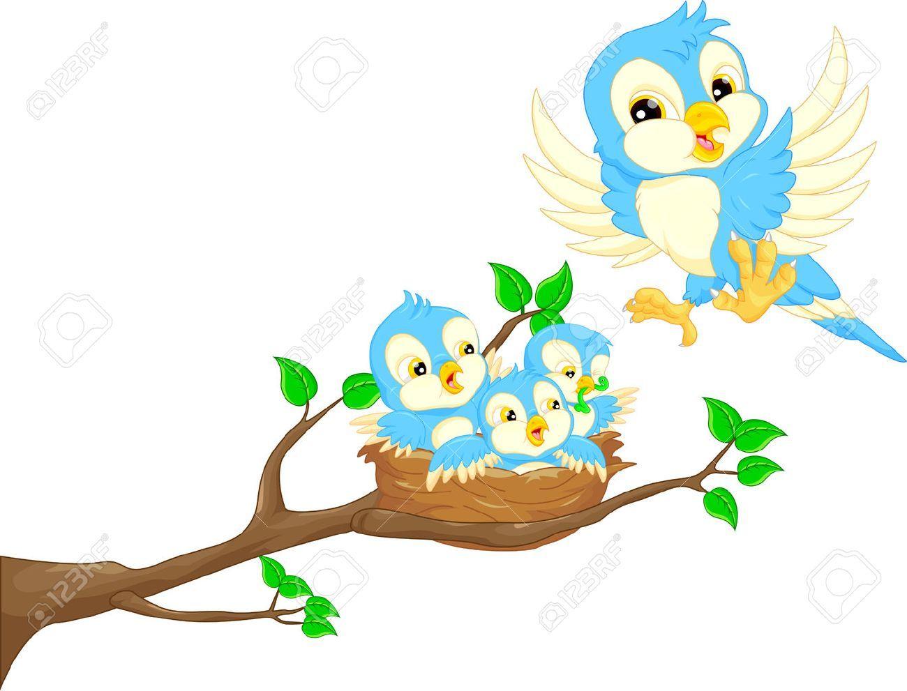 Baby bird in nest clipart 5 » Clipart Portal.