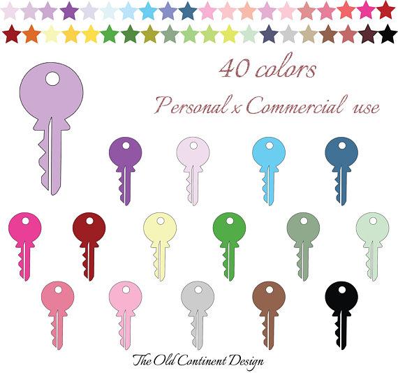 PRINTABLE, Keys clipart, Keys clipart, Keys clip art, Key.