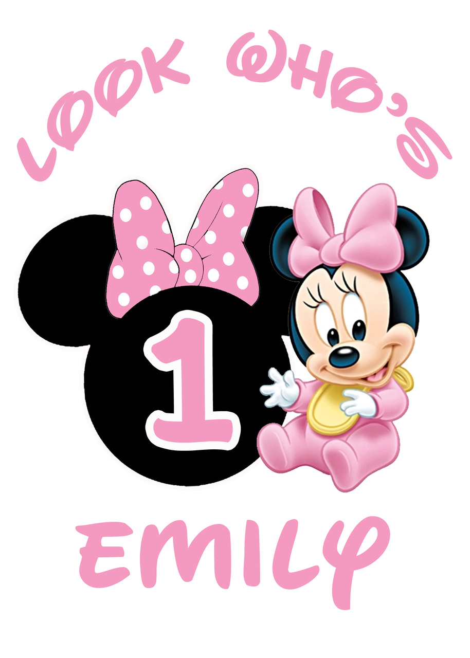 6577 Minnie Mouse free clipart.
