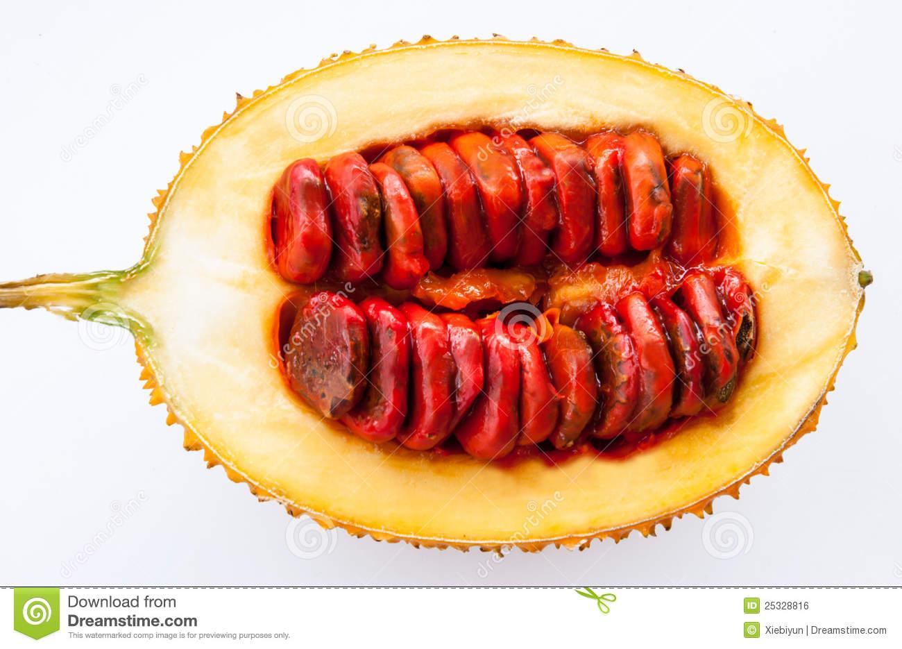 Fresh Slice Baby Jackfruit Stock Photo.