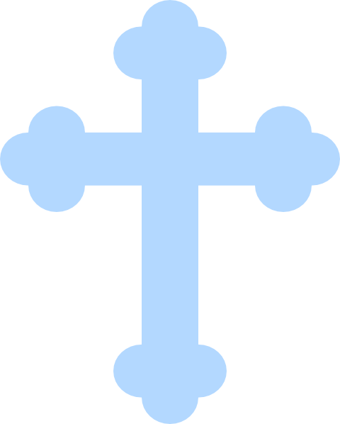 Download HD Baptism Cross Clipart Black And White.
