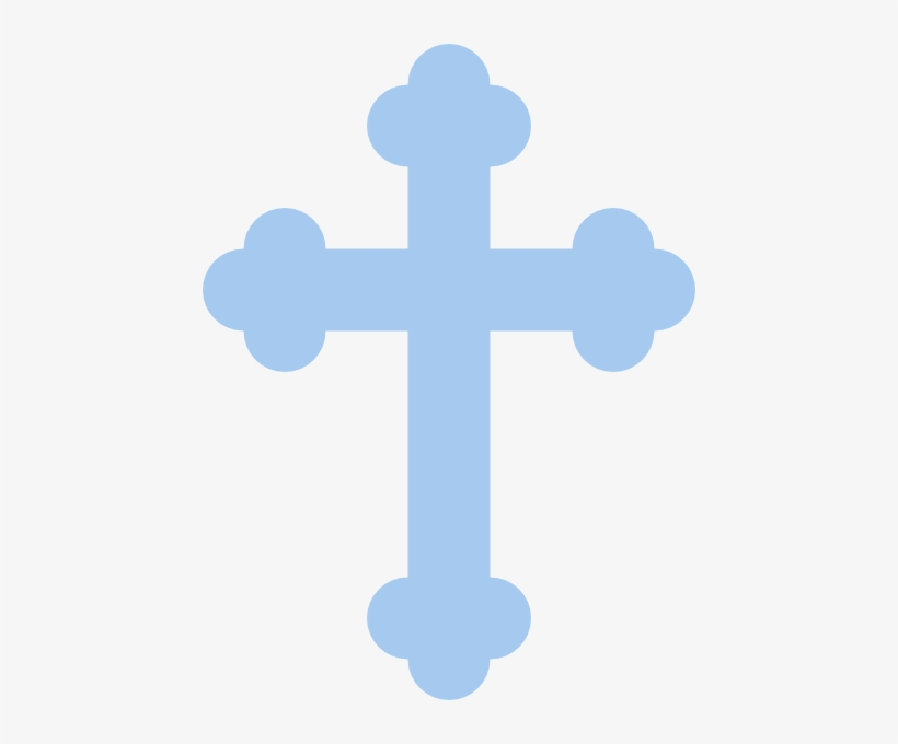 Light Blue Cross Clip Art At Clker.